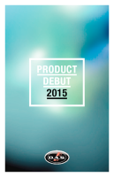 Product Debut 2015